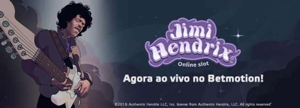Jimi Hendrix Ao Vivo no Betmotion!
