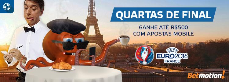 4tos Euro 2016 Apostas mobile
