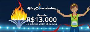 BingOlimpíadas premiará jogadores que completarem 6 desafios
