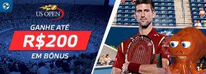 Todas as apostas no US Open receberão bônus em dinheiro