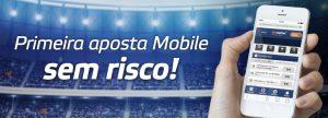 1ª aposta feita via mobile tem 100% de cashback