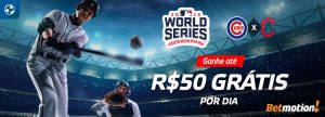 MLB World Series dará até R$ 50 por dia