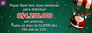 Super Bingo dará R$ 4.200.000 em prêmios neste Natal
