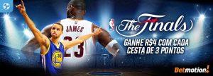 Finais da NBA: Cada cesta de 3 pontos valerá R$ 4