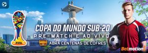 Cofres voltam na Copa do Mundo Sub-20