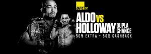 Luta entre Aldo e Holloway terá promoção 2 em 1