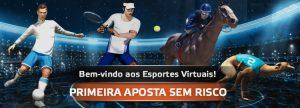 No Betmotion, 1ª aposta em Esportes Virtuais é sem risco