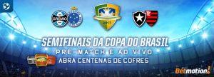 Ache os cofres nas semifinais da Copa do Brasil