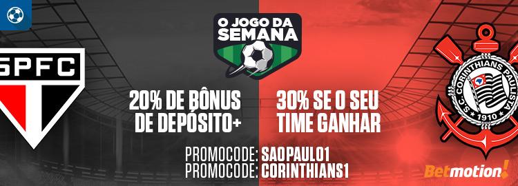 Jogo Semana_Sao Paulo x Corinthians