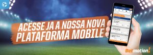Betmotion lança nova plataforma Mobile Sports