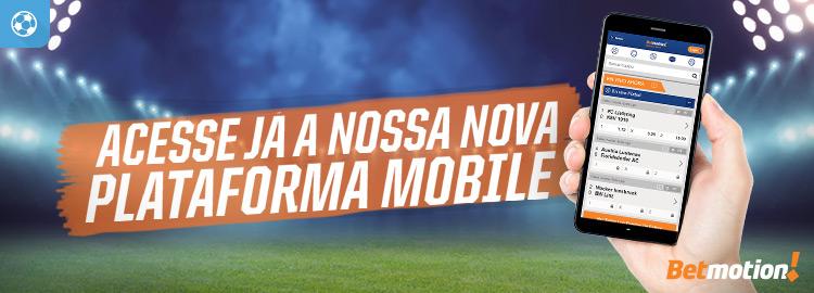 Nova plataforma mobile