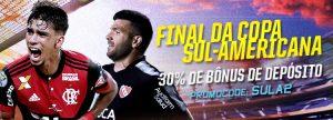 Final da Copa Sul-Americana dá até R$ 500 de Bônus