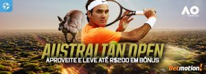 Australian Open dá até R$ 200 de Bônus