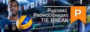Partidas Promocionais: Tie Break dá 50% de Cashback