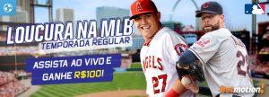 Assista à temporada regular da MLB e ganhe R$100