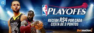 NBA Playoffs dão R$4 por cada cesta de 3 pontos