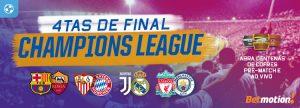 Quartas de Final da Champions League abrem centenas de cofres