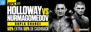 UFC 223 terá Cashback e dinheiro extra no Betmotion
