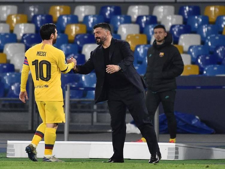 Napoli-Barcelona-Messi-Gattuso_reproducao-site-Napoli