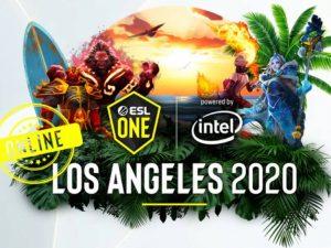 ESports: ESL One LA de Dota 2 será online e em novo formato