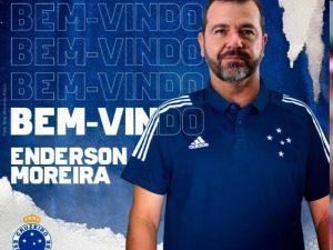 Enderson Moreira é o novo técnico do Cruzeiro