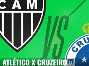 Fim de semana tem Atlético x Cruzeiro e Fla x Botafogo
