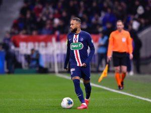 Neymar marca, Mbappéfaz três e PSG goleia Lyon