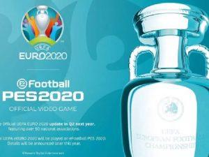 Konami adia atualização do game UEFA Euro 2020 para PES