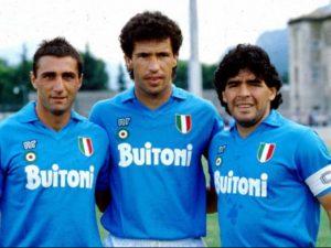 Careca compara trio com Maradona no Napoli a MSN, do Barça