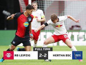 Brasileiro Matheus Cunha brilha e Hertha frustra RB Leipzig