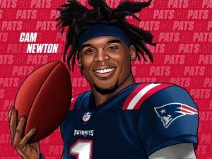 Cam Newton fecha com New England Patriots