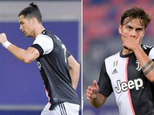 CR7 e Dybala marcam e Juve vence; Italiano segue nesta terça