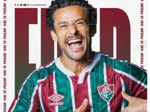 Fluminense anuncia volta de centroavante Fred
