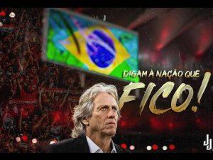 Jorge Jesus confirma acordo de renovação com Flamengo