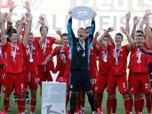 Bayern fecha Alemão com goleada; Gladbach vai à Champions
