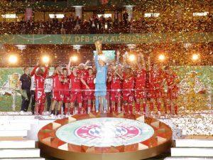 Bayern goleia Leverkusen e fatura bi da Copa da Alemanha