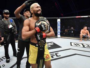 Brasil volta a ter um campeão no UFC entre os homens