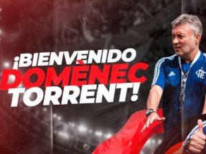 Flamengo anuncia ex-auxiliar de Guardiola Domènec Torrent