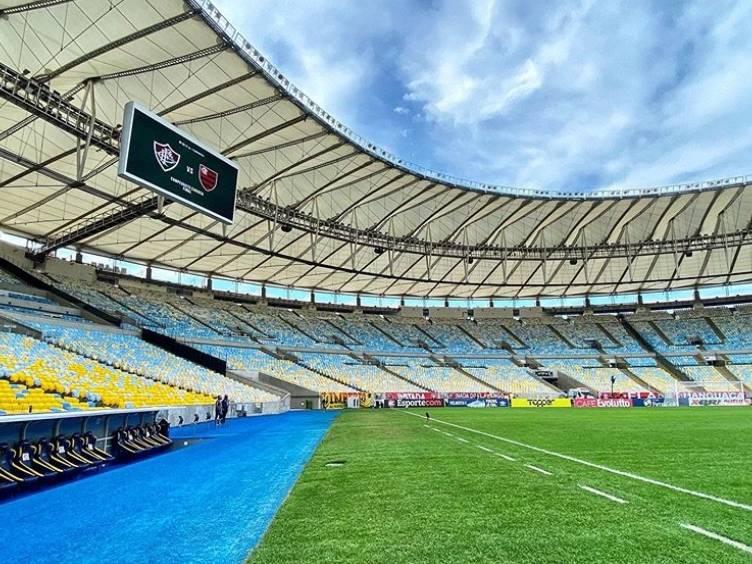 maracana-flaflu-placar-gramado-estadio-vazio_instagram-flamengo