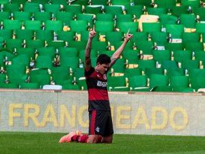 Pedro marca novamente e Fla sai na frente na final do Carioca