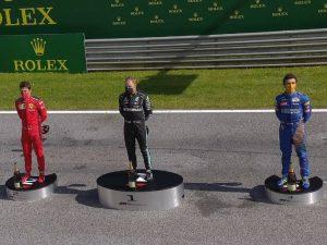 Bottas vence GP da Áustria; punido, Hamilton fica fora do pódio