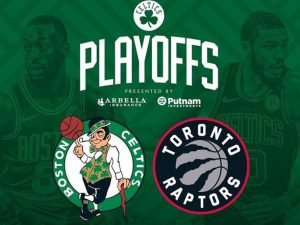 Celtics e Raptors varrem rivais em suas séries e se enfrentam