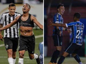 Galo e Grêmio largam na frente em finais mineira e gaúcha