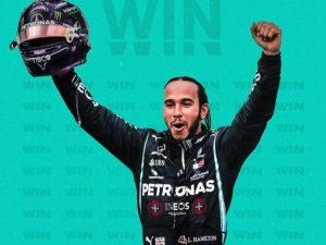 Hamilton vence terceira corrida do ano, em casa, na Inglaterra