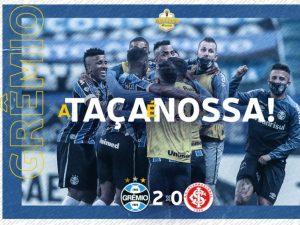 Grêmio vence mais uma vez o Inter e está na final do Gauchão