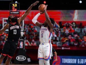 Rockets superam Thunder e pegam Lakers. Hoje tem Celtics