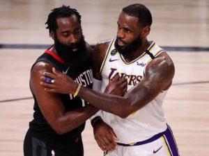 Lakers batem Rockets no Oeste. Heat já é finalista do Leste