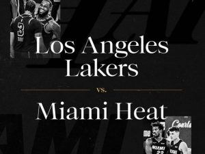 Final da NBA será entre Los Angeles Lakers e Miami Heat