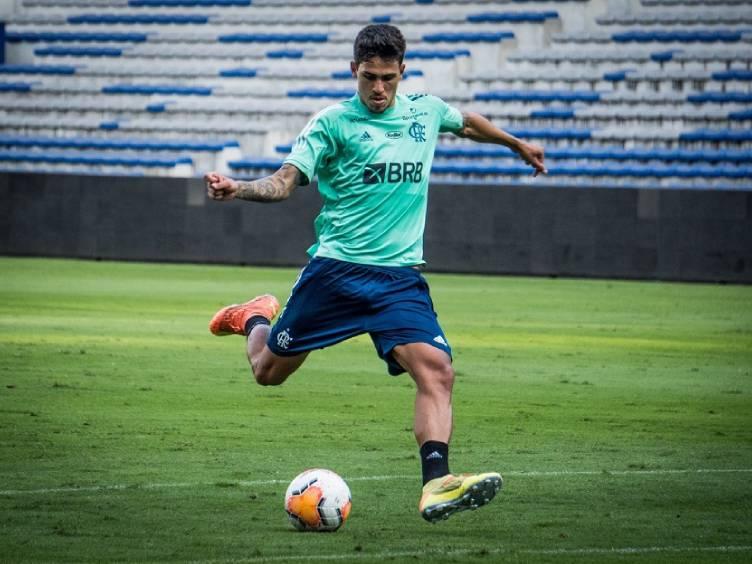 pedro-flamengo-treino-equador_twitter-flamengo
