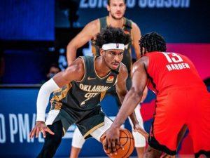 Thunder bate Rockets e força jogo 7; Miami Heat vence Bucks